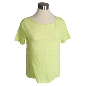 Joe Fresh Large Bright Yellow Boxy Tee